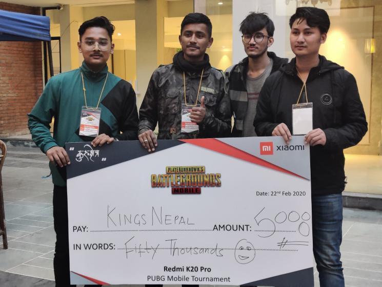 Xiaomi Redmi K20 Pro KINGS NEPAL winner