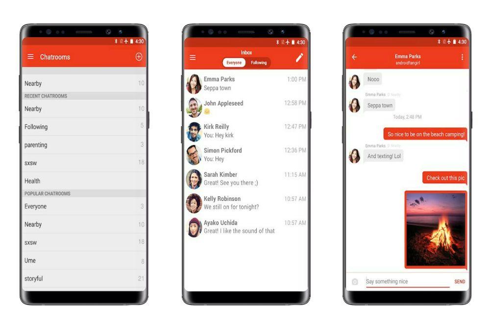 download firechat android offline messaging app