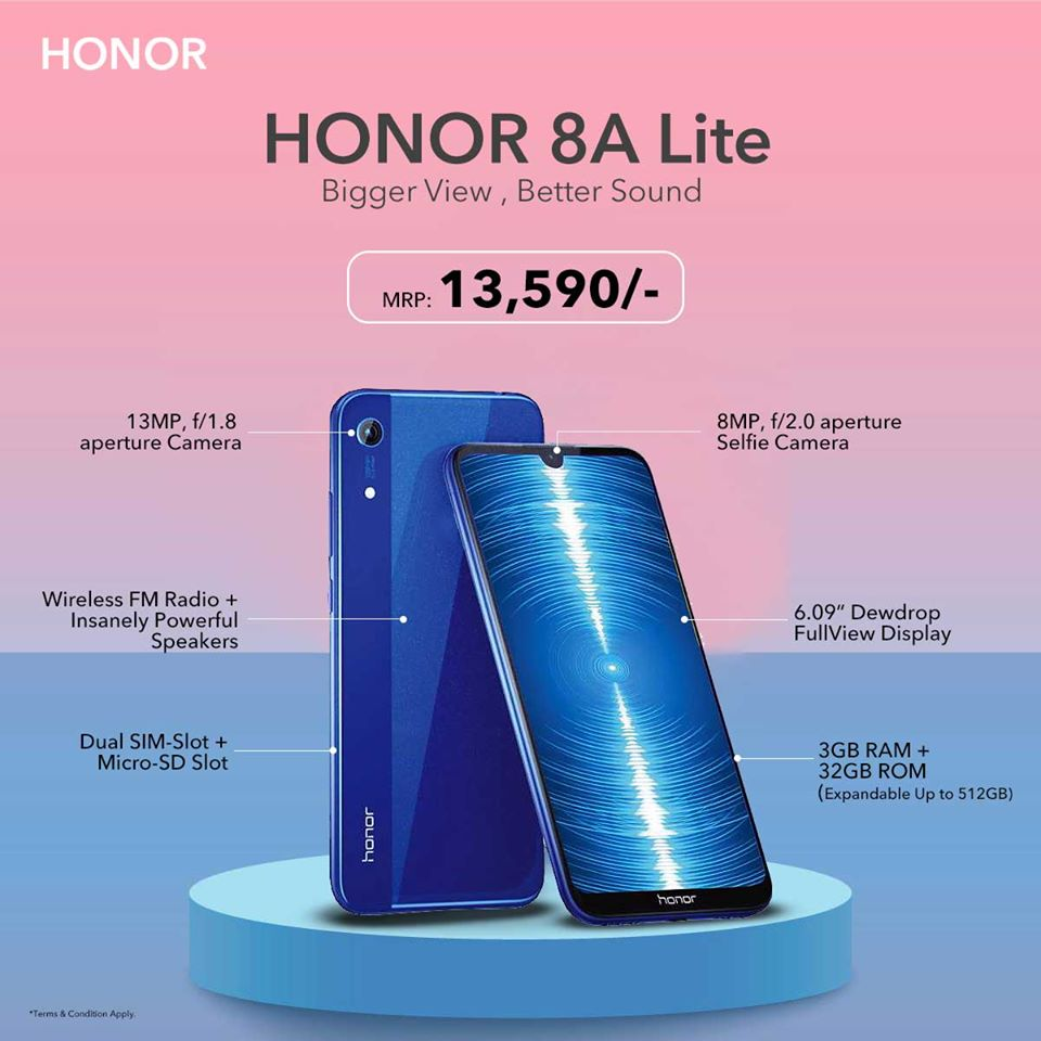 honor 8a lite price nepal buy