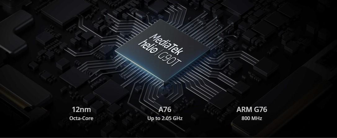 realme 6 mediatek processor