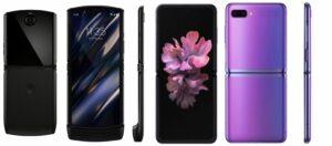samsung galaxy Z-Flip versus Motorola-Razr 2019 Foldable Phone