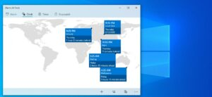 How to add multiple time zone in Windows 10