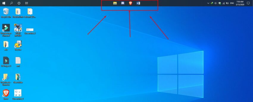 How to center Windows 10 Taskbar icons like Windows 10X