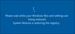 How to create a Schedule System Restore Point on Windows 10