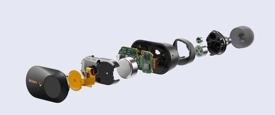 Sony WF-1000XM3 Earbuds true wireless noise cancelation