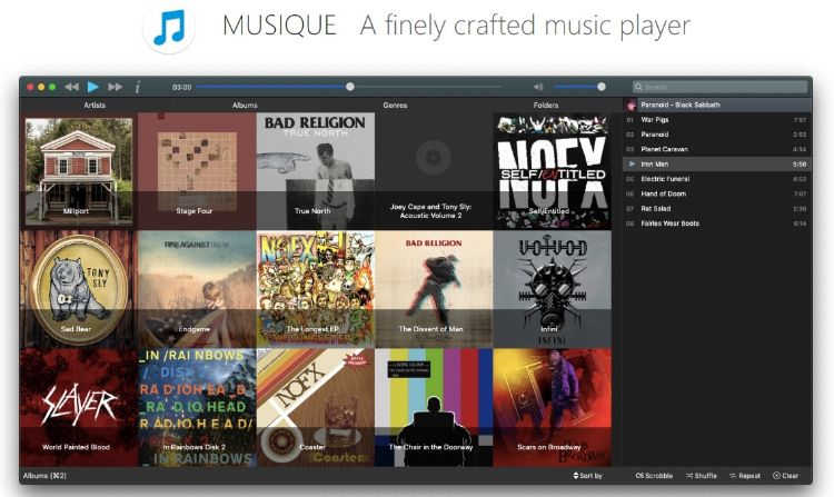 download musique for windows macos linux