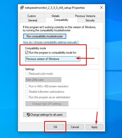 netspeedmeter setting config windows 10
