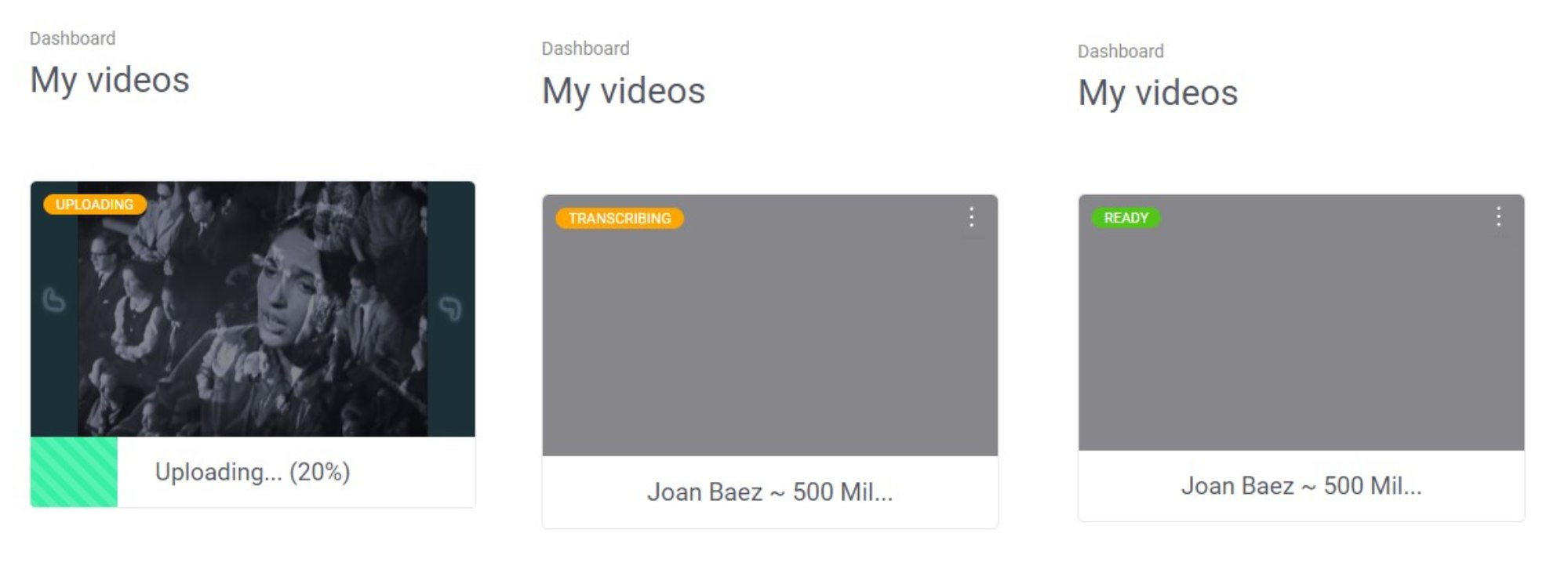 subly add subtitles to video-upload-transcribe ready