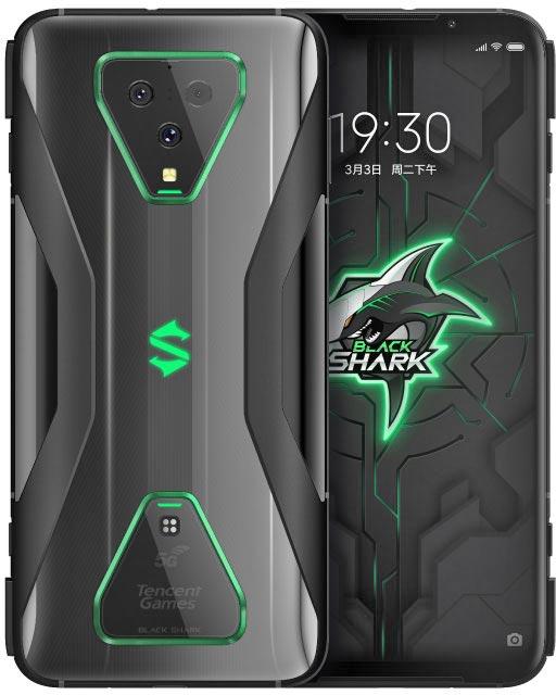 xiaomi black shark 3 pro design display