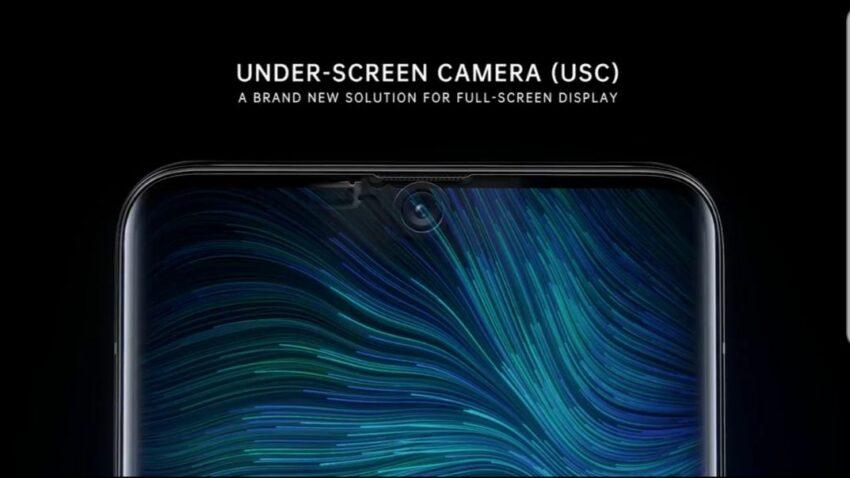 Galaxy S21 underscreen selfie camera