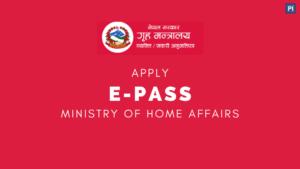 How to get vechicles e-pass / Epass online from MoHA Coronavirus Nepal