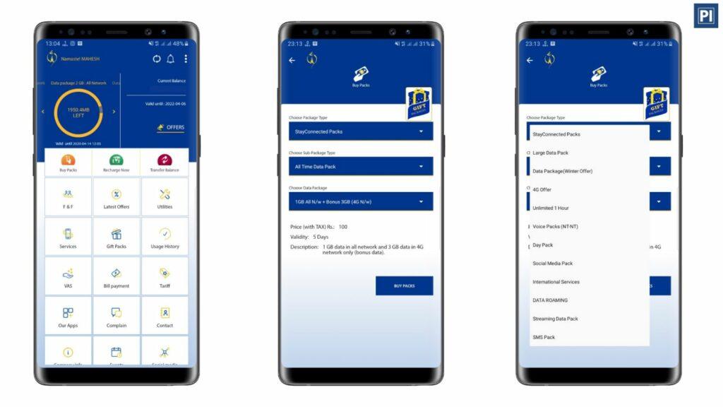 Take-Data-Package-using-Nepali-Telecom-mobile-app
