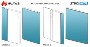 huawei Rollable smartphone