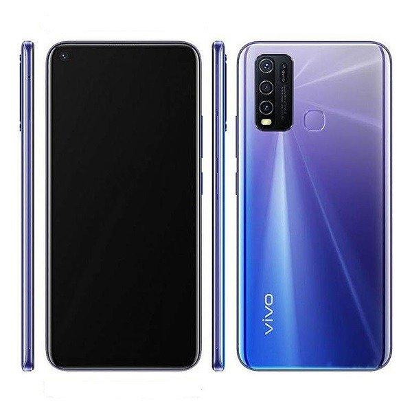 vivo y50 design and display