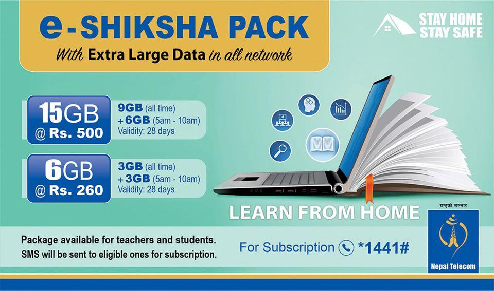 NTC eShakshya Student Data Package for Online Studies