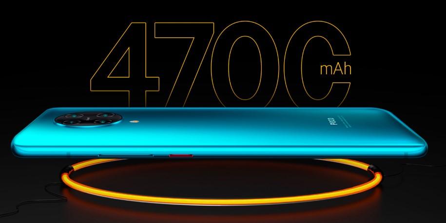 poco f2 pro 4700mah battery 30 watt fast charging