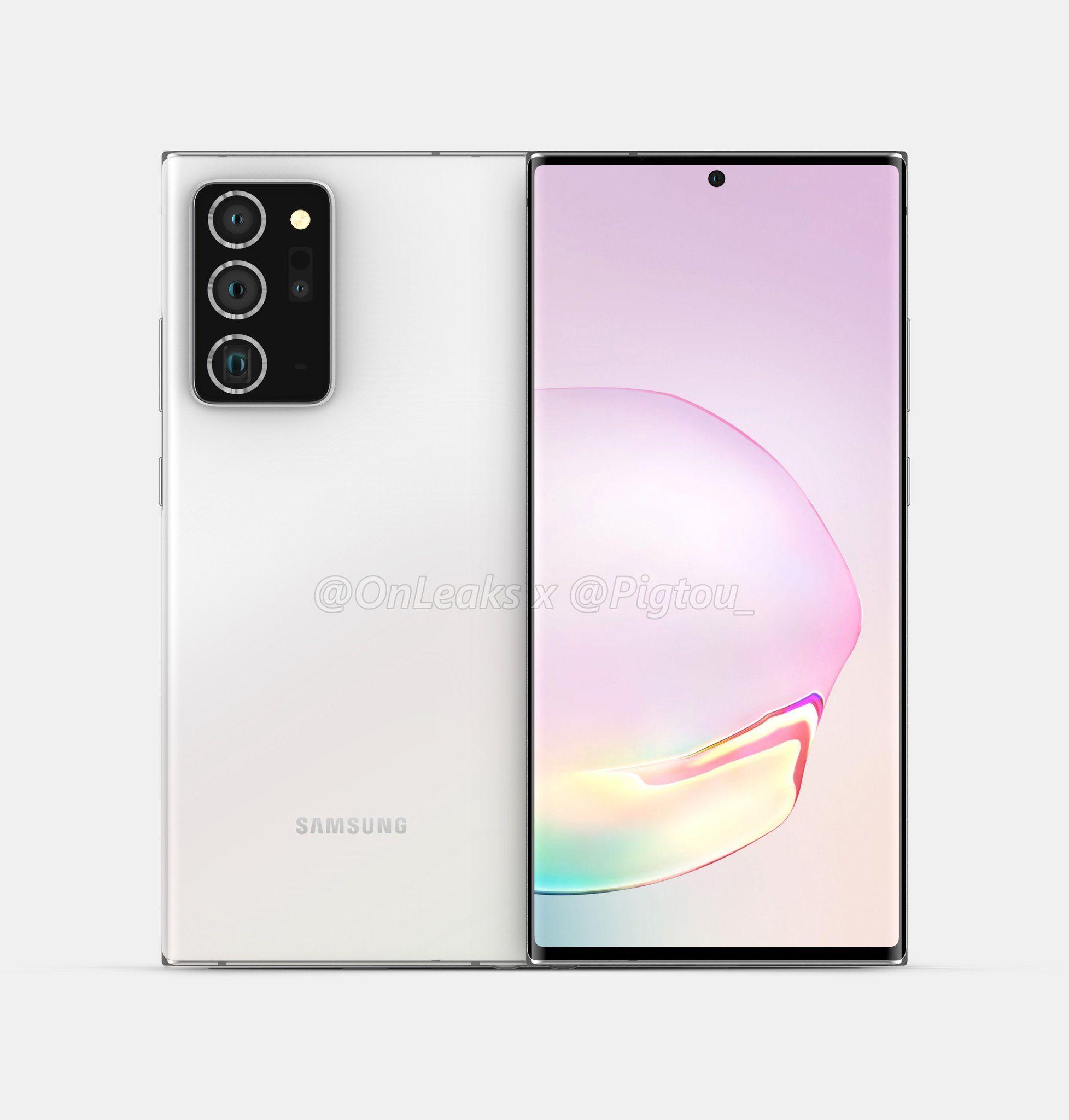Samsung Note 20 Plus camera