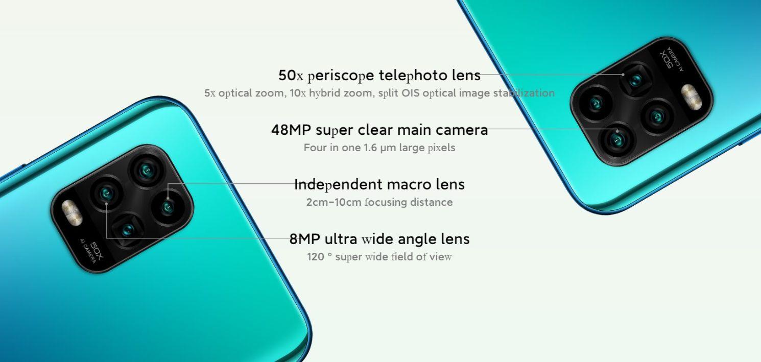 xiaomi mi note 10 youth 50x periscope telephoto lens rear quad camera
