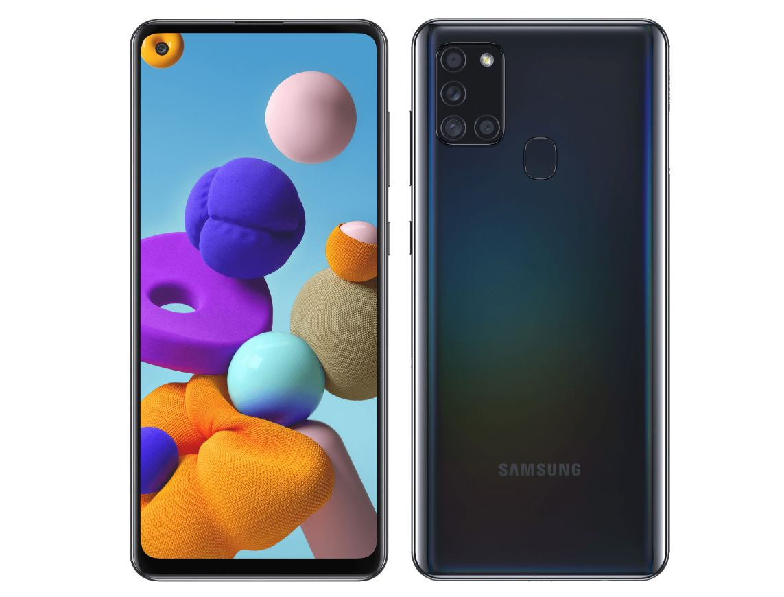 samsung galaxy a21s design display specifications