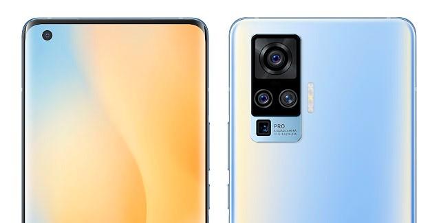 vivo x50 Pro 5G quad camera selfie setup