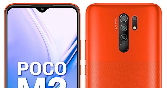 poco m2 selfie rear camera