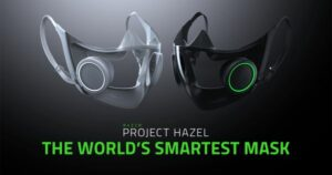 razer project hazel the world's smartest face mask ces 2021