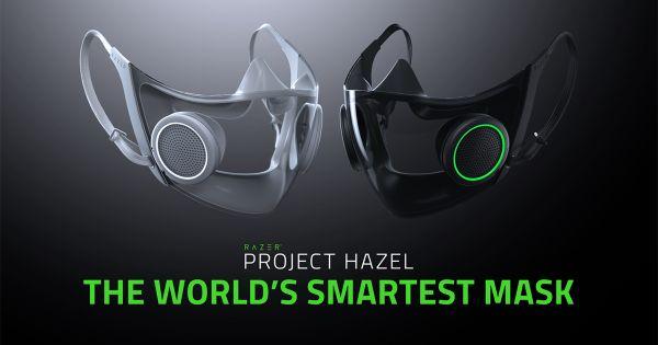 razer project hazel the world's smartest face mask ces 2021
