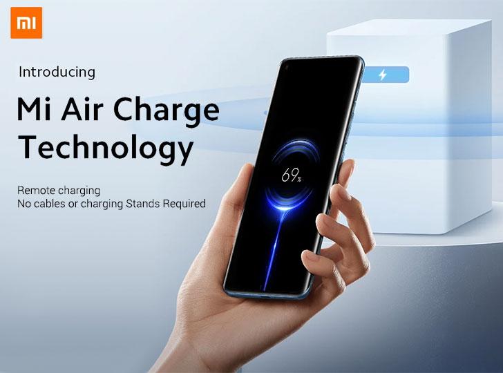 xiaomi mi air charge technology 5w wireless