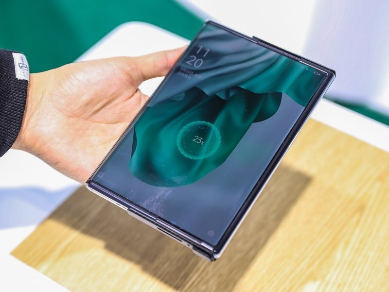 oppo wireless air charging technology