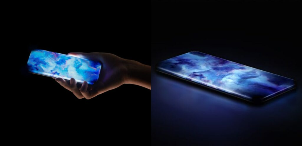 xiaomi concept phone curved display tease
