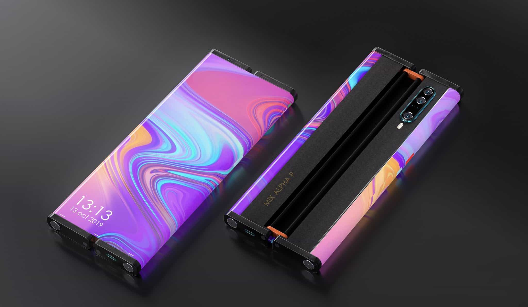 xiaomi mi mix alpha rollable foldable