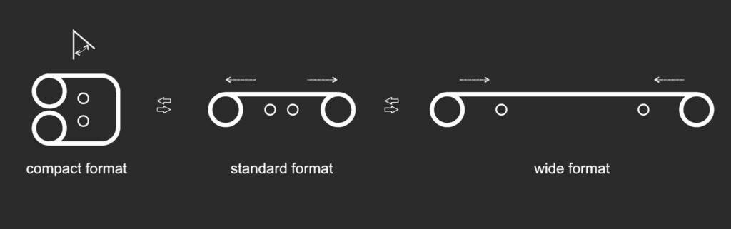 xiaomi mi mix rollable foldable concept design