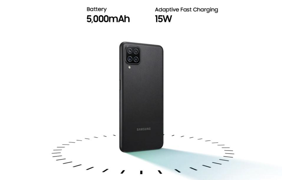 samsung galaxy a12 battery chipset performance