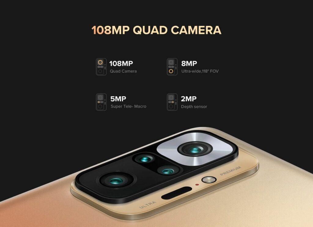 xiaomi redmi note 10 pro max selfie rear camera module